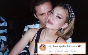 """Khi tin đồn sắp đính hôn đang rần rần, cậu cả nhà Beckham bắt ngờ đăng bài viết cực kỳ """"hại não"""", bạn gái thì bình luận ngắn gọn: """"Em yêu anh"""""""