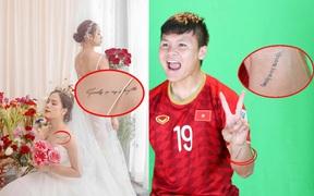 Phát hiện thú vị: Quang Hải và Huyền My có hình xăm đôi từ thời chưa dính tin đồn hẹn hò