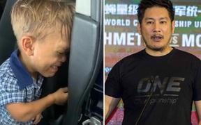 """Chứng kiến cậu bé mắc chứng """"người lùn"""" bị bắt nạt đến mức đòi tự sát, Chủ tịch giải võ số 1 châu Á đưa ra lời đề nghị bất ngờ khiến ai cũng phải ngợi khen"""