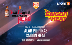 Sau 2 tuần nghỉ ngơi, Saigon Heat quyết tâm tạo ra bất ngờ trước San Miguel Alab Pilipinas