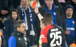 """Hy hữu: HLV ở Đức """"làm phúc phải tội"""", ăn thẻ đỏ sau khi... đỡ cầu thủ đối phương đứng dậy"""