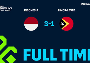 Indonesia 3-1 Timor Lester | Highlights bảng B AFF Cup 2018