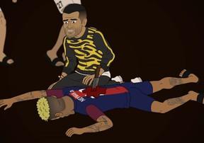Những nhà vô địch tập 8: Ai là kẻ đã ra tay hạ sát Neymar?
