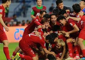 Đội tuyển Việt Nam và hành trình tới tứ kết Asian Cup 2019
