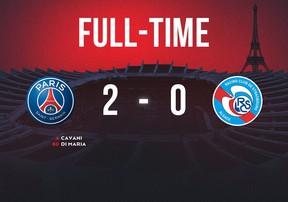 PSG 2-0 Strasbourg | Di Maria và Cavani lập công