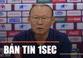 Bản tin 1SEC sáng 19/11: HLV Park bổ sung 2 cầu thủ trên 22 tuổi dự SEA Games 2019 và khẳng định Công Phượng sẽ ghi bàn vào lưới Thái Lan