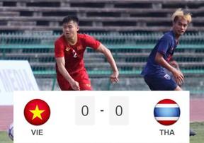 Highlights U22 Việt Nam vs U22 Thái Lan | Bất phân thắng bại