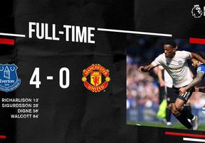 Highlights Everton 4-0 MU | Quỷ Đỏ thua thảm, khó lòng vào top 4