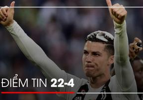 [Điểm tin thể thao] Ronaldo cam kết ở lại Juventus, HLV Klopp thiết lập kỷ lục mới tại Liverpool