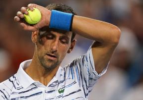 Highlights: Djokovic vượt khó vào bán kết Cincinnati Masters