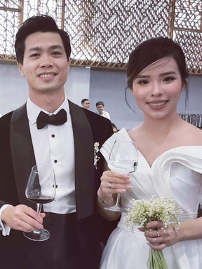 Tại sao đám cưới Công Phượng – Viên Minh phải tổ chức kín đáo?