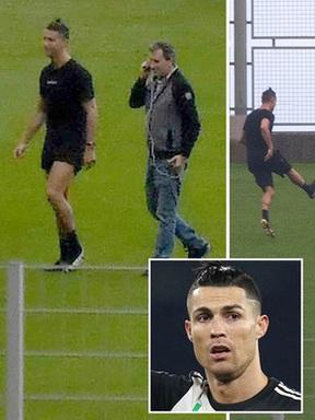 """Thủ thành trẻ kể lại lần được trở thành """"bia tập bắn"""" cho Ronaldo: Cứ như là giấc mơ, được cho tiền nhưng sướng nhất vẫn là trải nghiệm"""