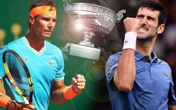 Djokovic thắng thót tim, tạo nên trận chung kết trong mơ với Nadal ở Roland Garros