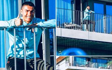 Những hình ảnh đầu tiên của Ronaldo trong khu cách ly: Nụ cười tỏa nắng ấm áp