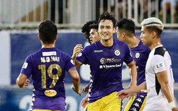 Trung vệ điển trai tỏa sáng với cú đúp, CLB Hà Nội thắng đậm 4-0 ngay trên sân của HAGL
