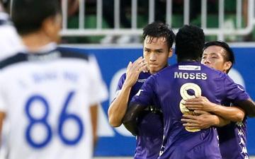 """Trung vệ trẻ điển trai chiếm trọn """"spotlight"""" của dàn sao HAGL và Hà Nội FC là ai?"""
