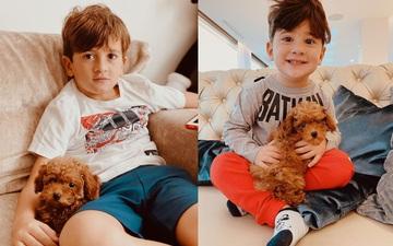 """Gia đình Messi đón """"thành viên"""" mới: Một em pet siêu dễ thương nhưng fan lại đặt nhiều dấu hỏi lo lắng"""