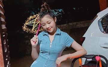 """Nhật Linh khoe dáng nuột nà đi chơi Trung thu, than thở khi bị """"người lạ"""" tán tỉnh và hiểu nhầm là độc thân"""