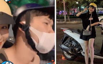 """Tuyển thủ U23 Việt Nam tranh thủ """"vượt nghìn dặm"""" đi chơi với bạn gái xinh đẹp và cùng nhau ăn cả thế giới"""