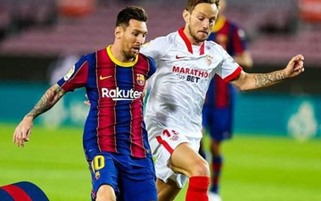 Messi và các đồng đội đánh mất điểm ngay trên sân nhà