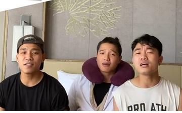 Xuân Trường, Minh Long và Văn Thanh tái hiện màn cover gây sốt 3 năm trước khi cùng đi dự tiệc đám cưới Công Phượng