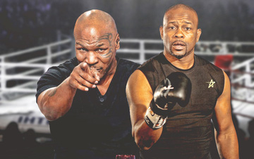 Cựu thù Evander Holyfield cùng hàng loạt tên tuổi làng võ tin Mike Tyson sẽ đánh bại Roy Jones trong trận đại chiến