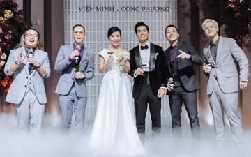 Da LAB tung ảnh xịn xò trong đám cưới của Công Phượng - Viên Minh