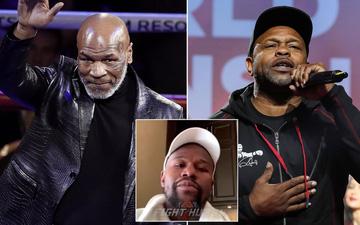 Mike Tyson, Roy Jones và Floyd Mayweather lao vào đấu khẩu