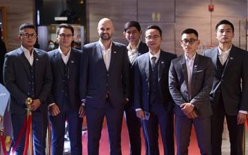 Ngắm dàn soái ca VBA lên đồ lịch lãm tại VBA Awards 2020: Thang Long Warriors diện vest đội khiến fan trầm trồ