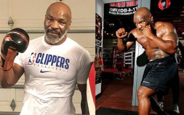 """Không lâu sau ngày tái xuất, Mike Tyson đã bắt tay vào tập luyện trở lại, gây ấn tượng với bộ kỹ năng """"không phải dạng vừa"""""""