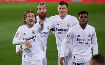 Real Madrid nối dài chuỗi trận thăng hoa để cân bằng điểm số với ngôi đầu bảng