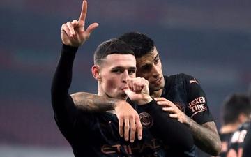 Arsenal thất bại nặng nề trước Man City, nối dài chuỗi trận đen tối