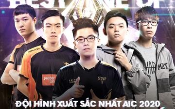 Lai Bâng, Gấu, XB góp mặt vào đội hình xuất sắc nhất AIC 2020