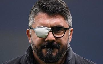Bí ẩn tấm đeo bịt mắt của HLV Gattuso và căn bệnh vô phương cứu chữa