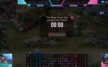 """NHM dậy sóng sau thất bại của BOX: """"Chiến thuật pause game của MAD Team rất tốt"""""""