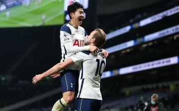 """Son Heung-min """"vẽ"""" siêu phẩm, Tottenham hạ gục Arsenal để bay cao trên đỉnh bảng Ngoại hạng Anh"""