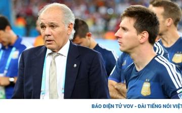 Thầy cũ Messi tại ĐT Argentina qua đời ở tuổi 66