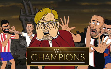 """Hoạt hình """"Những nhà vô địch"""" (Phần 2): Thế giới được cứu nhờ... một hạt bụi sau sai lầm khó đỡ của những thủ môn hàng đầu thế giới"""
