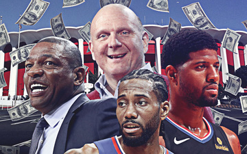Bỏ 400 triệu USD mua sân mới, Los Angeles Clippers quyết tạo đế chế của riêng mình