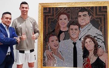 Gặp gỡ Mr Bling, nghệ nhân tranh đá quý Swarovski làm mê hoặc cả Messi, Ronaldo và Neymar