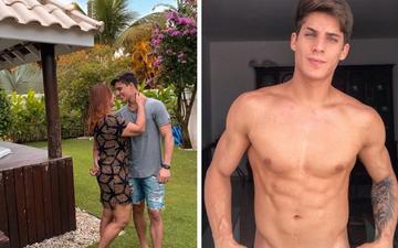 Mẹ của cầu thủ đắt giá nhất thế giới hẹn hò cùng trai đẹp kém 30 tuổi, cơ bắp cuồn cuộn