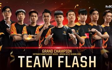 Địa chấn: Team Flash đánh bại GAM Esports sau 5 ván đấu nghẹt thở để lần đầu tiên vô địch VCS