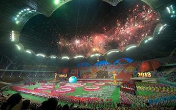 Choáng ngợp với SVĐ lớn nhất thế giới ít người biết tại CHDCND Triều Tiên: Sức chứa lên đến 150.000 người, hiếm khi tổ chức trận đấu