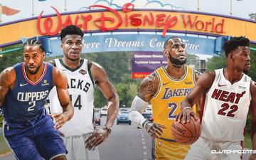 Walt Disney World sẽ là nơi diễn ra những trận đấu còn lại của NBA 2019-2020?