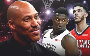 """Vẫn chưa buông tha Zion Williamson, """"ông bố tuyệt nhất NBA"""" tiếp tục cà khịa tân binh của New Orleans Pelicans trên MXH"""
