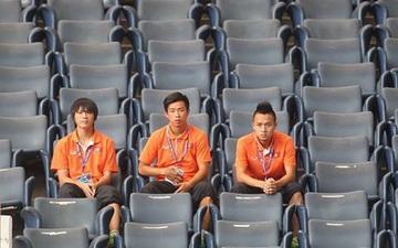 Bức ảnh chụp 3 tuyển thủ Việt Nam gây ám ảnh và chứa đựng quá nhiều nỗi đau