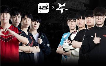 Riot Games khiến người hâm mộ Trung Quốc tức giận khi có tới 7/8 tuyển thủ là người Hàn Quốc trên poster giải giao hữu LPL - LCK