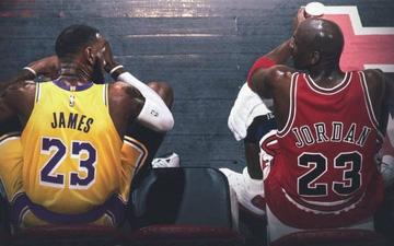 Michael Jordan áp đảo LeBron James ở các hạng mục bình chọn do ESPN thực hiện