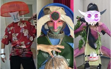 Cộng đồng Dota 2 Việt Nam lại khiến thế giới ngây ngất bởi cuộc thi có một không hai: Ở đây chúng tôi dùng... lồng bàn, rổ nhựa để cosplay