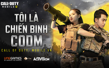 """Call of Duty Mobile Vietnam khai mở cuộc thi """"Tôi là chiến binh CODM"""", người chơi chỉ việc """"sống ảo"""" là có cơ hội nhận được phần quà lên đến 30 triệu VNĐ"""